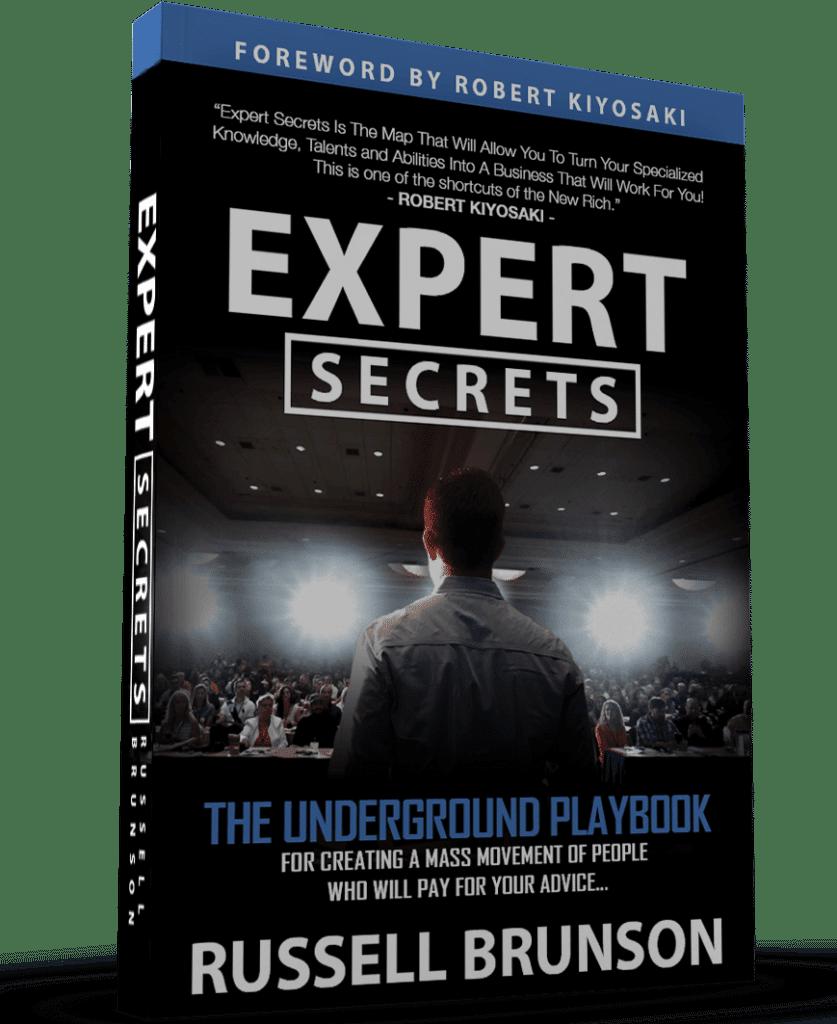 Livre Expert Secrets de Russell Brunson