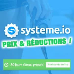 Prix de Systeme.io : formules et tarifs 2020 2