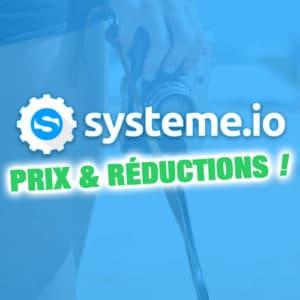 Prix de Systeme.io : formules et tarifs 2019 (+ Réduction !) 2