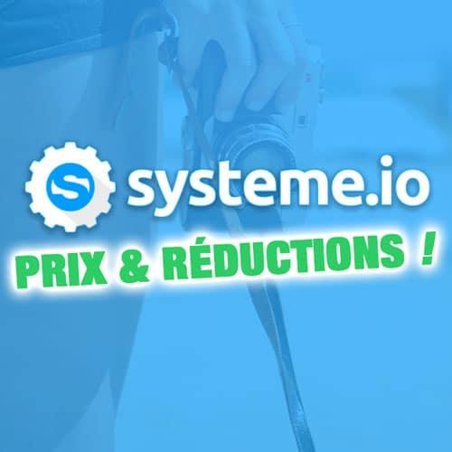Prix de Systeme.io : formules et tarifs 2019 (+ Réduction !) 1