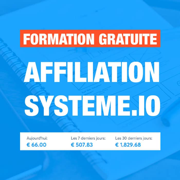 Formation Affiliation Systeme.io