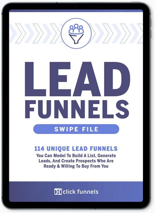 Lead Funnels le dernier livre de Russell Brunson