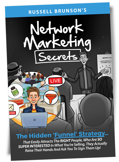 Le livre Network Marketing Secrets de Russell Brunson