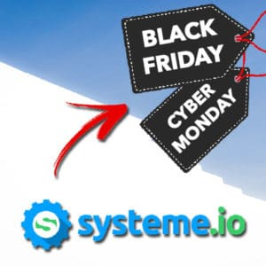 Systeme io Black Friday & Cyber Monday les meilleures offres 2019 1