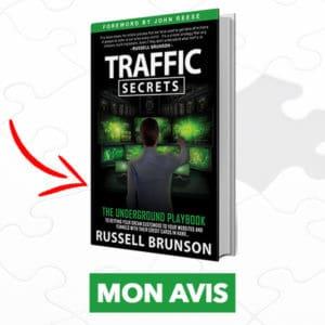 Traffic Secrets, le nouveau livre de Russell Brunson 1