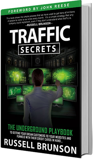 Couverture du livre Traffic Secrets de Russell Brunson