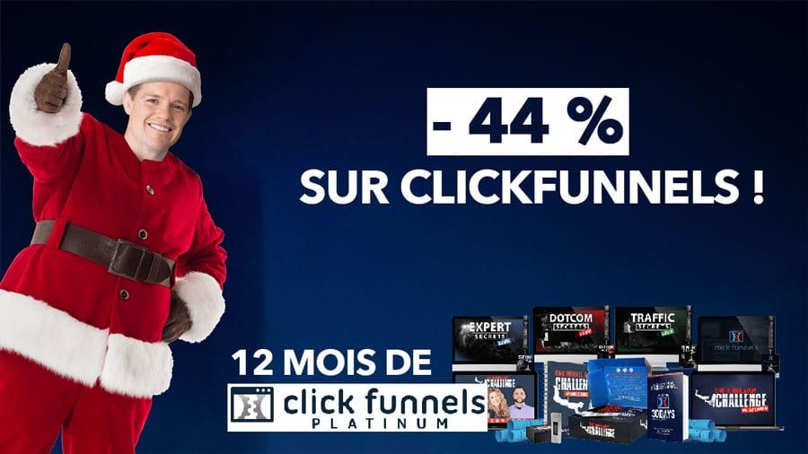 ClickFunnels Black Friday & Cyber Monday les meilleures offres 2019 1